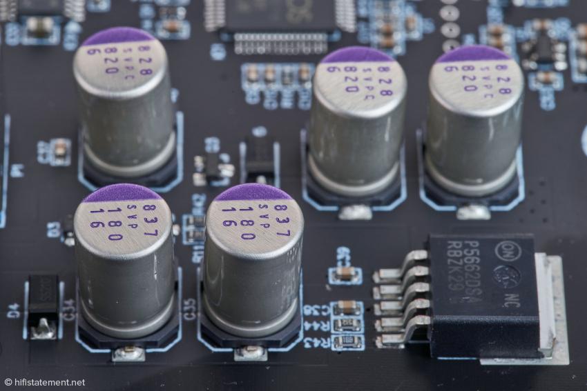 Die OS-CON™Aluminum-Polymer-Feststoffkondensatoren