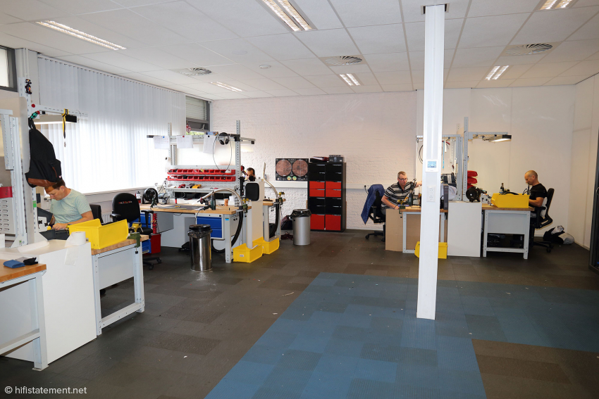 Most cables are assembled by hand here in Roosendaal, the Netherlands
