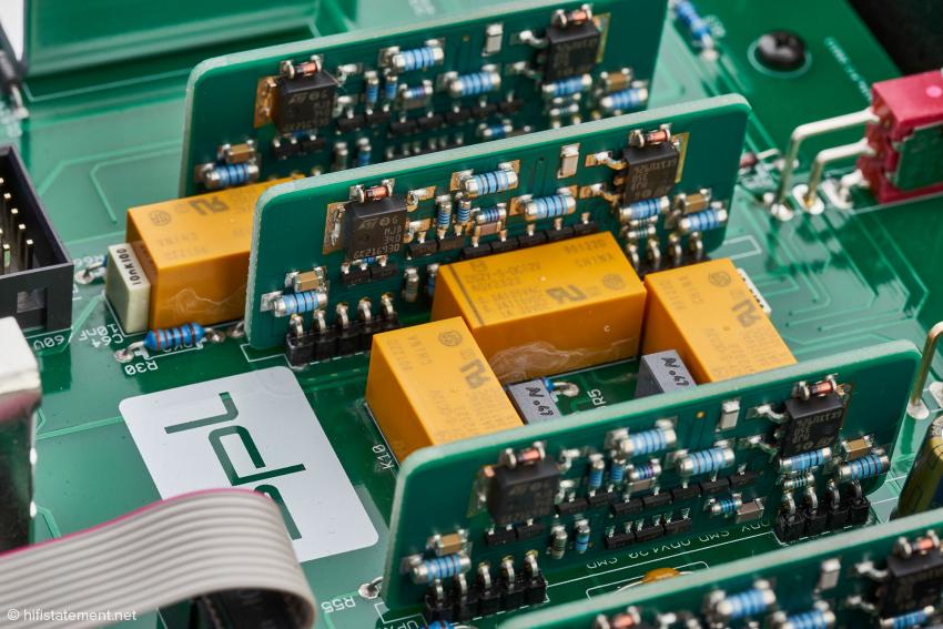 Sind die Voltair OP-Verstärker neben der Matrix-Funktion der Schlüssel zum guten Klang?
