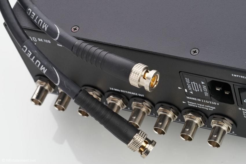 Die 75Ω-Clock-Kabel von MUTEC