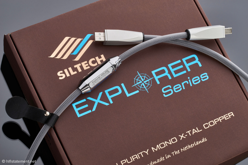 For me, this auditory journey yields the Siltech Explorer 45USB as a big surprise
