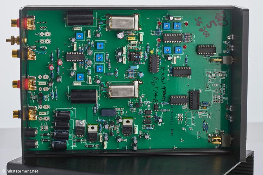 Ein Blick ins Innere des SG-200