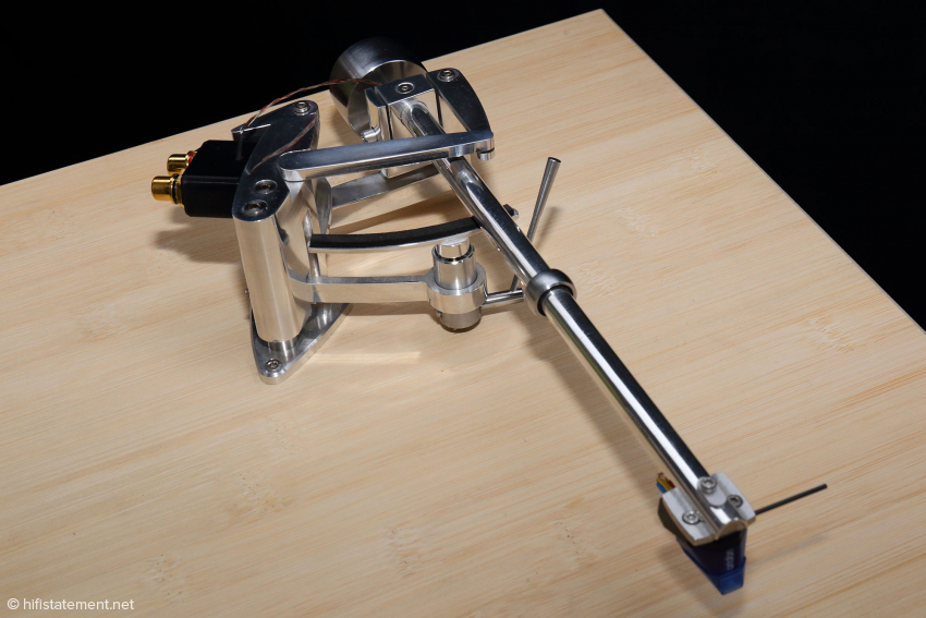 Der Prototyp des Arms, der den Autor schon vor etwa acht Jahren faszinierte