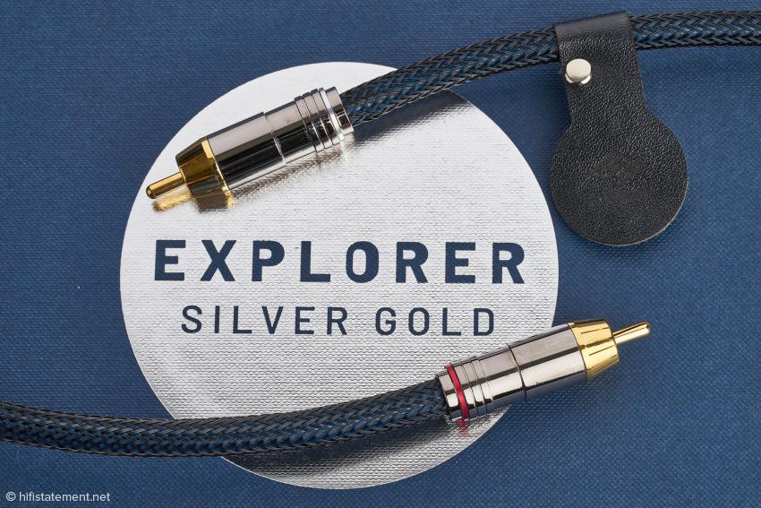 Das neue Explorer in der Qualitätsstufe SG 280i ist sehr flexibel. Die Leder-Manschette trägt den individuellen Code, der per NFC eingelesen werden kann