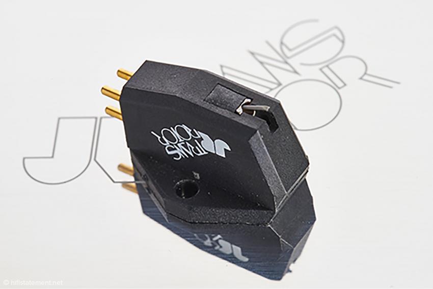 Klare Geometrien des Gehäuses aus Pocan® erleichtern die korrekte Ausrichtung des Tonabnehmers