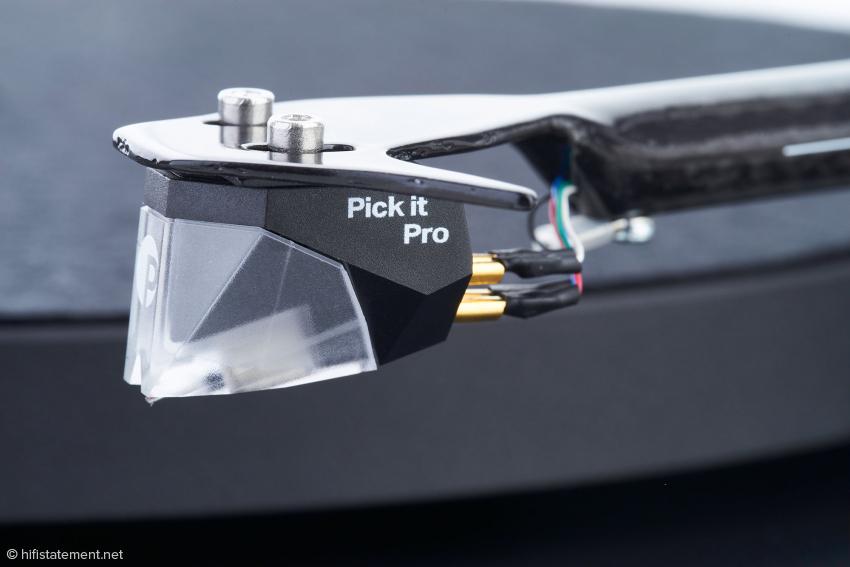 Das MM-System Pick it Pro fertigt Ortofon exklusiv für Pro-Ject