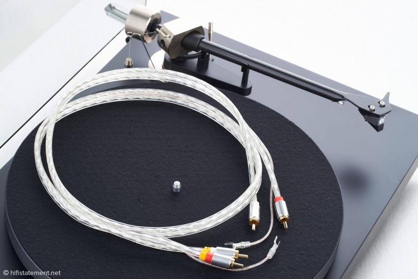 Das Connect it Phono RCA-E gehört zum Lieferumfang