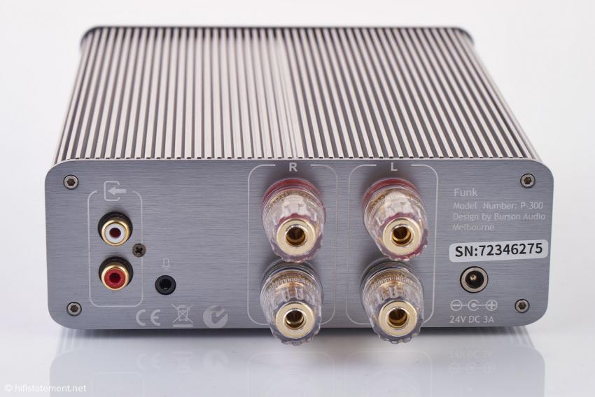 Der Funk hat nur einen Cinch-Eingang, Gamer können jedoch auch ein Mikrofon anschließen