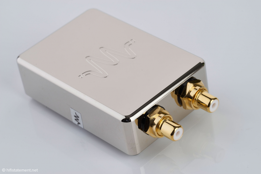 Waversa bietet auch einen Coax-Isolator-Ext1 für S/PDIF-Verbindungen, der aber nicht Gegenstand dieses Test ist