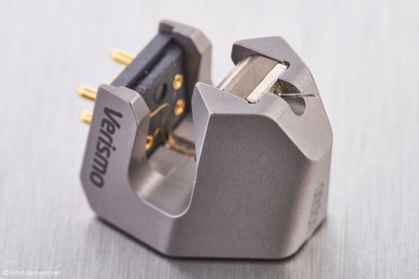 Der Generator ist sehr kompakt und findet im vorderen Teil des im SLM-Verfahren hergestellten Gehäuses Platz
